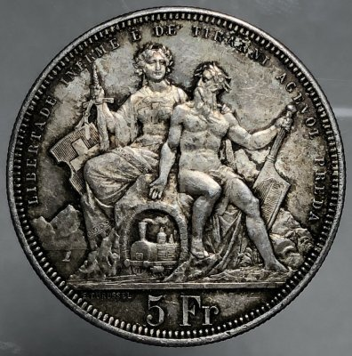 Svizzera Tiri Federali 5 Franchi ...