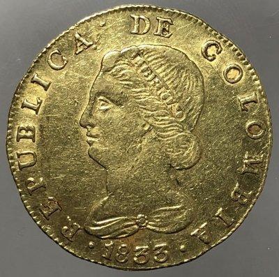 Repubblica di Colombia 8 Escudos ...