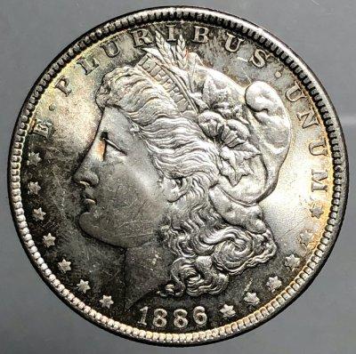 Stati Uniti  Dollaro Morgan 1886 ...